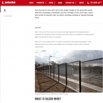 Security fencing copywriting