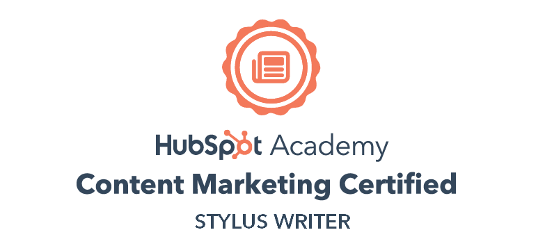 HubSpot Content marketing certified copywriting