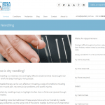 Dry needling Medical clinic services