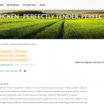 Organic chicken Natureland