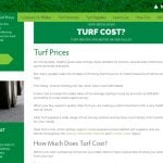 Turf prices guide